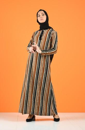 Robe Hijab Noir 0221C-03