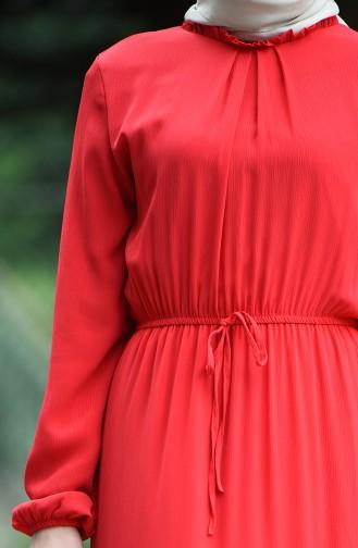 Robe Froncée Taille élastique 8037-18 Grenadine 8037-18