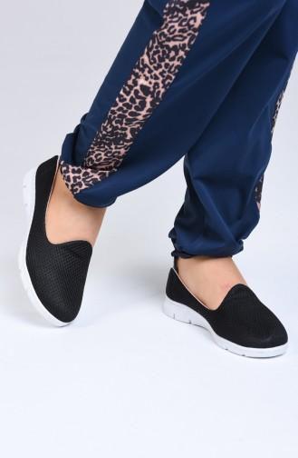Bayan Spor Ayakkabı MDR08-05 Siyah Tabanı Beyaz