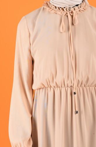 Robe Hijab Beige 2024-01