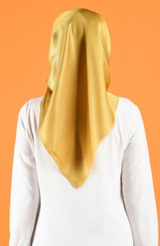 Safran-Farbe Kopftuch 7717-02