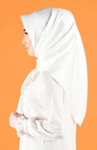 Naturfarbe Kopftuch 7717-04