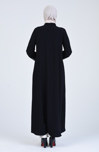 Dunkelblau Abayas 1080-02