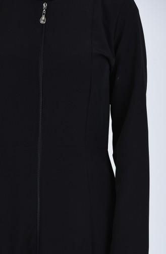 Black Abaya 1082-02