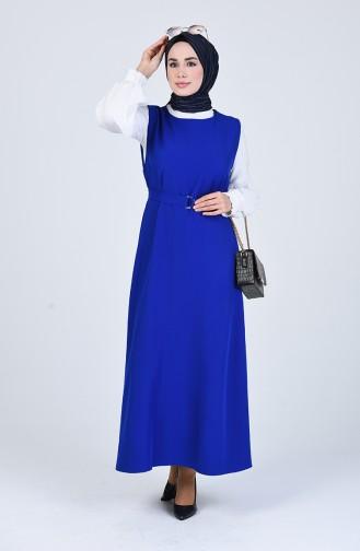 فستان أزرق 5307-06