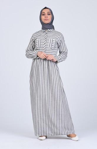 فستان كريمي 5090-01