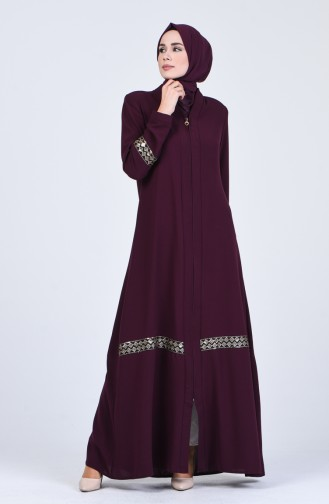 Purple Abaya 0411-01