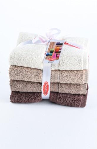 Brown Towel 2-01