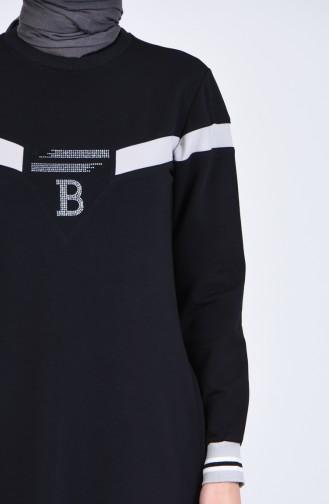فستان أسود 9155-01