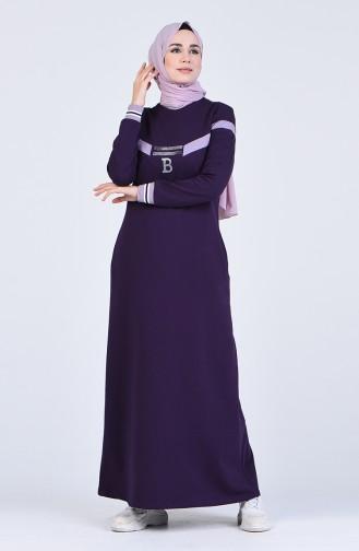 فستان أرجواني 9155-06