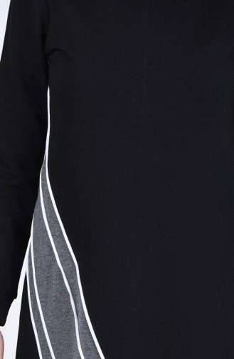فستان أسود 9197-01