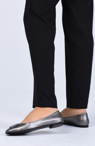حذاء مسطح بلاتين 0322-07