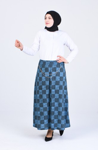 Jupe Turquoise 2046-01