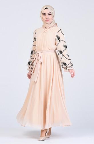 Robe Hijab Caramel 0370-03