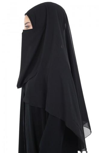 Schwarz Schal 0001-01