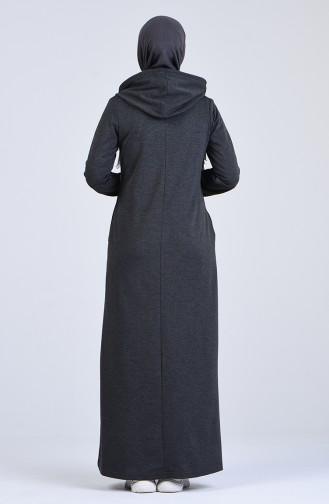 فستان أزرق كحلي 9188-03