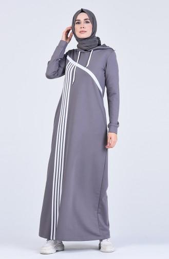 فستان أسود فاتح 9188-06