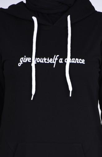 فستان أسود 9199-01