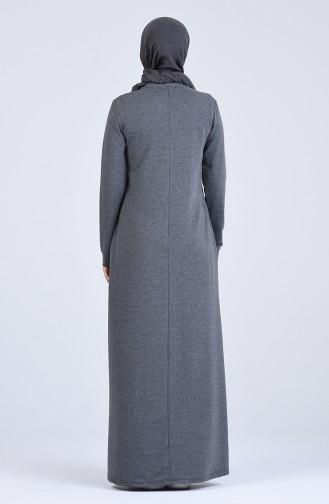Anthracite Dress 9208-03