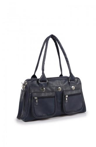 حقيبة كتف أزرق كحلي 04Z-02