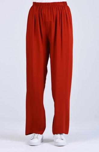 Pantalon Couleur brique 2247-01
