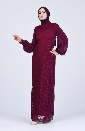 Habillé Hijab Plum 5009-02