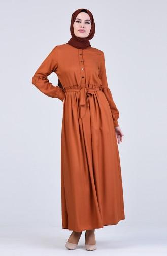 Robe Hijab Tabac 3145-02