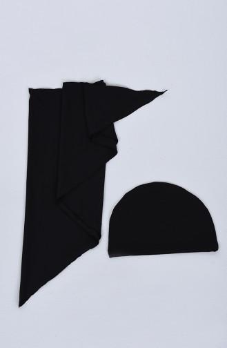 ملابس السباحة أسود 20117-01