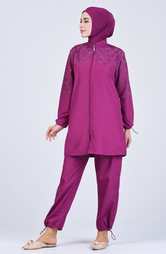 Damson Swimsuit Hijab 20171-03