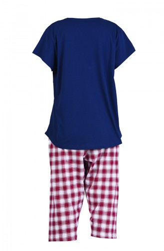 Pyjama Bleu Marine 911140-A
