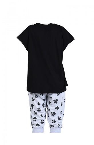Pyjama Noir 912202-A
