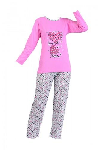 Rosa Pyjama 2605-01