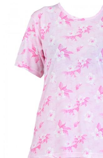 Beige-Rose Pyjama 6001-01