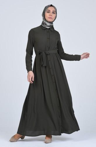 Robe Hijab Khaki 0006-06
