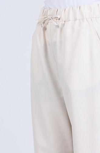 Pantalon Crème 9006-01