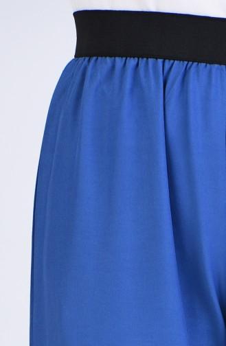 Pantalon Bleu marine clair 6434-06