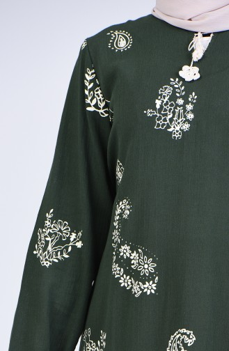 Robe Hijab Khaki 0044-01