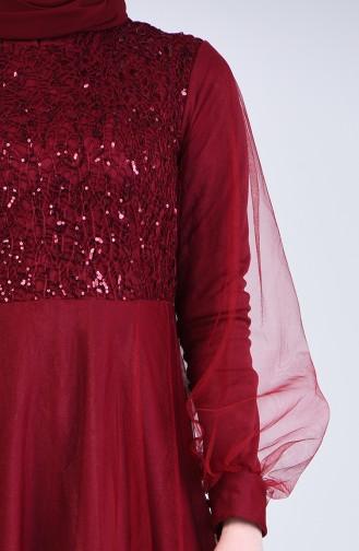 Robe Hijab Bordeaux 5007-03