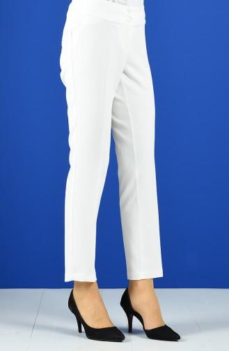 Pantalon Ecru 3059-01