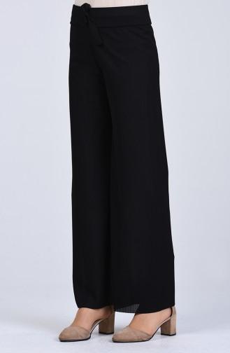 Pantalon Noir 8055-01