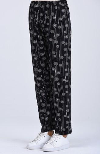 Pantalon Bleu Marine 8057-01