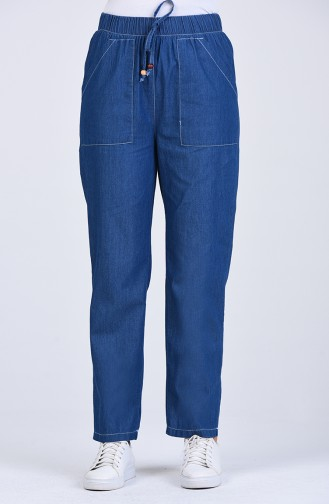 Navy Blue Pants 4048-02
