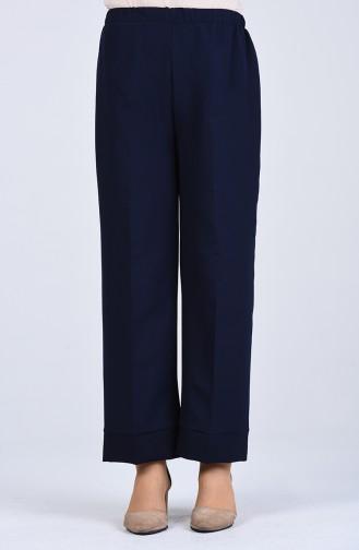 Pantalon Bleu Marine 1985-02