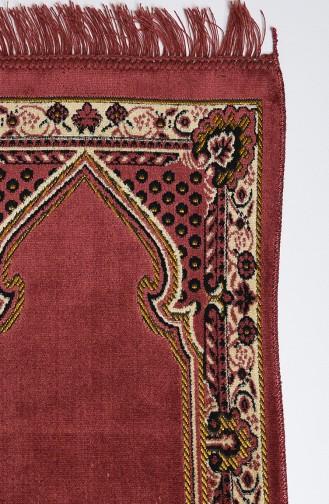Tapis de Prière Rose Pâle Foncé 18-01