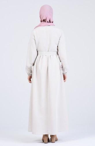 Robe Hijab Beige 70391-03