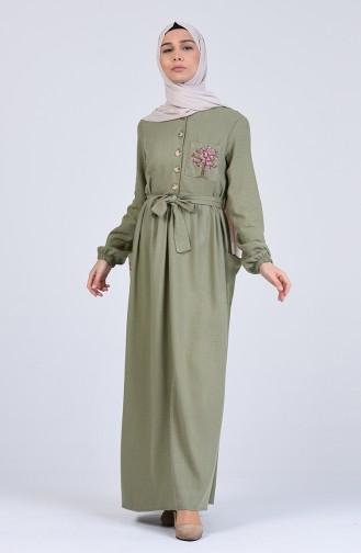 Robe Hijab Khaki 70391-04