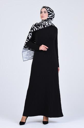فستان أسود 7010-05