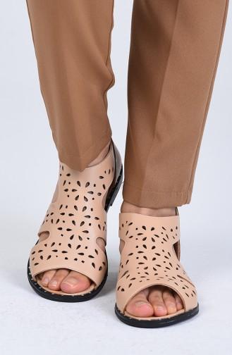 Sandales D`été Couleur de teint 0002-03