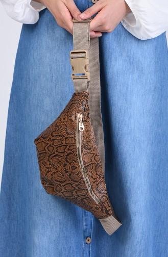 Tobacco Brown Belly Bag 1305C-02