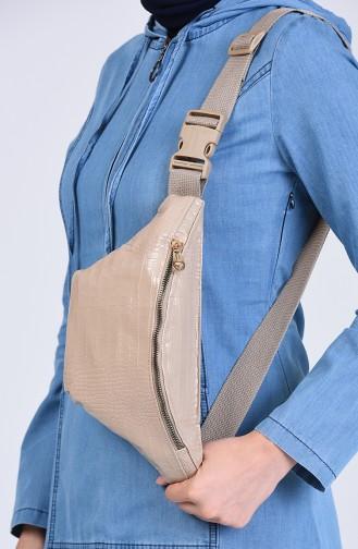 Beige Belly Bag 1305D-01
